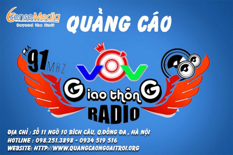 Quảng cáo radio vov giao thông online